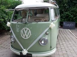 Classic VW Campervan for weddings in Milton Keynes